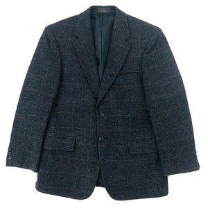 Izod Sports Coat Jacket 40S Windowpane Single Vent